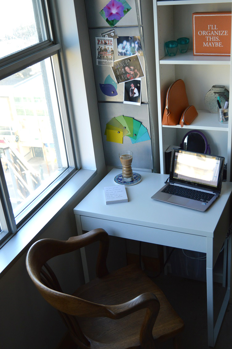 I Never Thought Blogging Would - My Desk