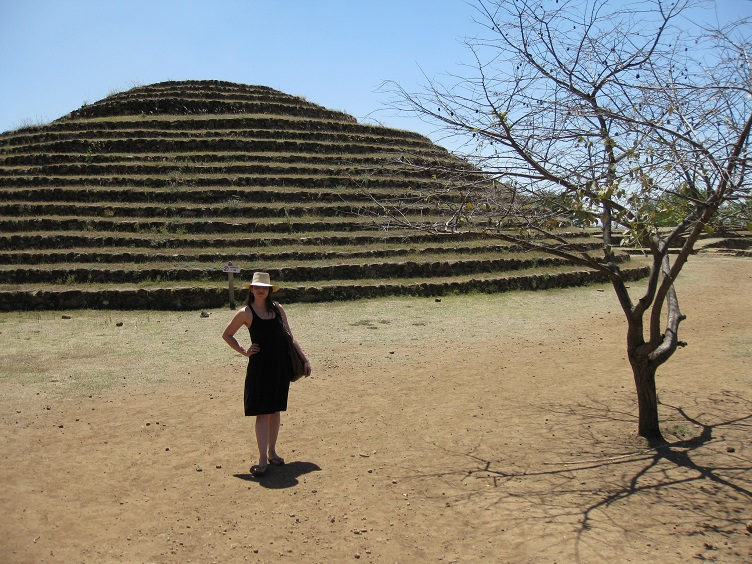 What Makes You Happy - Rasa in front of Guachimontones Pyramid