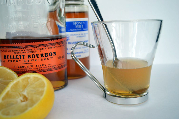 What to drink when youre sick - close up